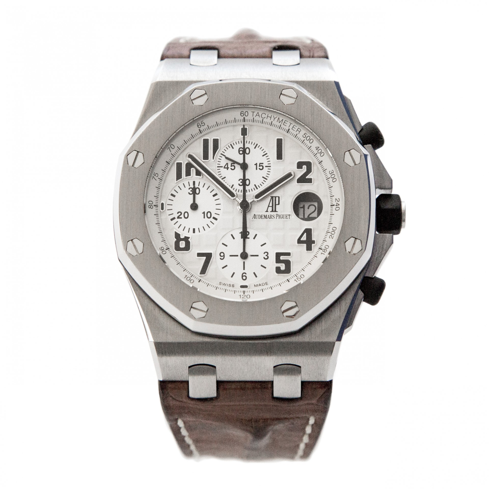 Audemars Piguet Royal Oak Offshore Chronograph Ref 26170st Oo D091cr 01 Safari H Serial Full Set