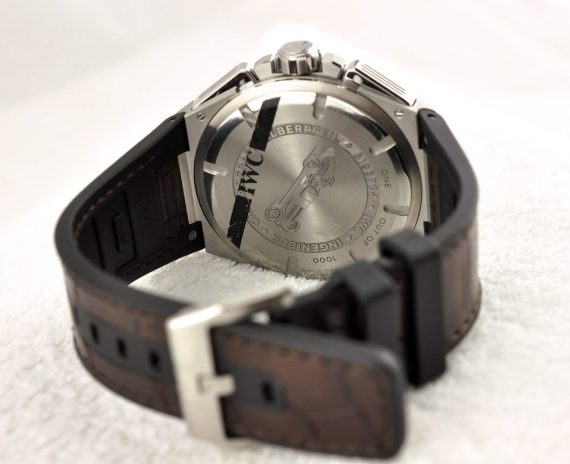 IWC Ingenieur Chronograph Silberpfeil-11