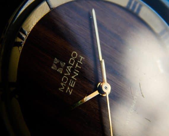 Wooden Zenith Movado cal 2572PC-11