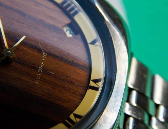 Wooden Zenith Movado cal 2572PC-12