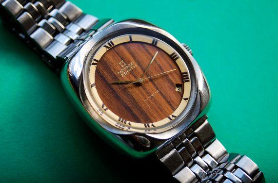 Wooden Zenith Movado cal 2572PC-3